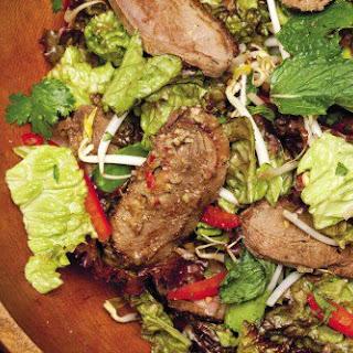 Wok-Seared Duck Salad.
