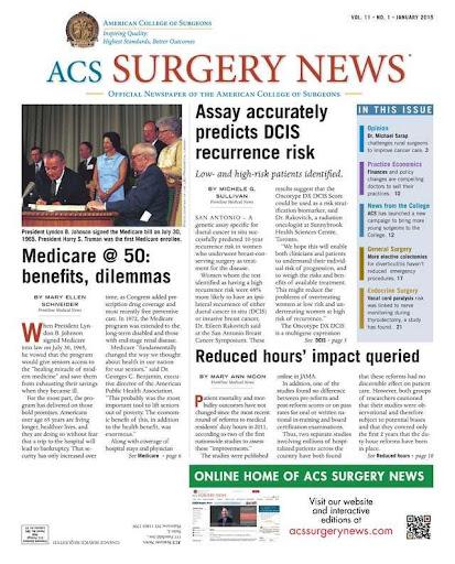 ACS Surgery News