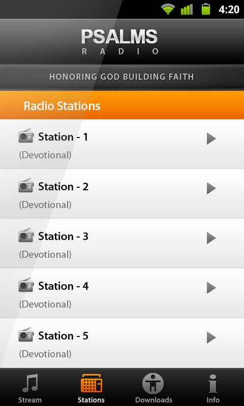 PSALMS RADIO - Malayalam - screenshot