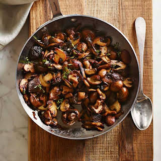 Mushrooms with Shallots and Sherry.