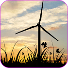 Sunset Windmill Live Wallpaper icon
