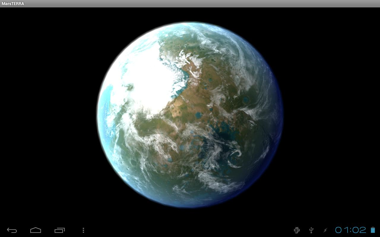 3D Planet Mars - Pics about space