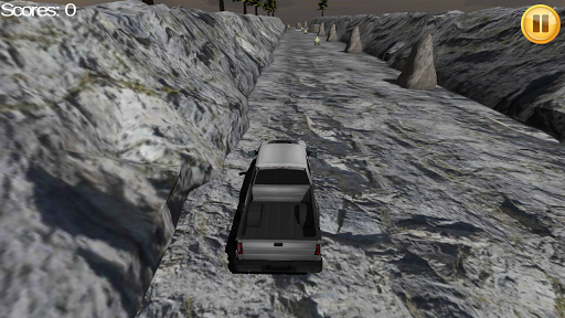 Pickup Truck Rock Race 3D
