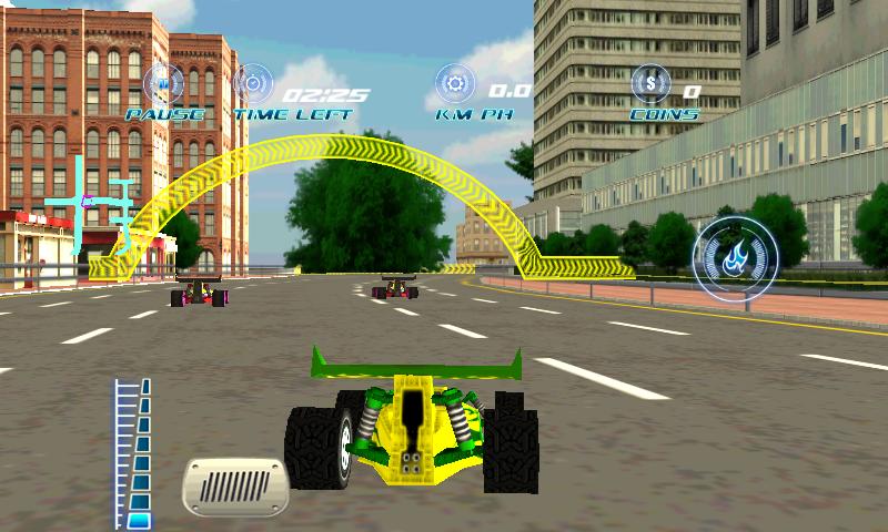 2 player 3d car racing games