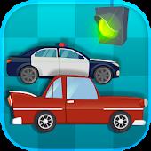 Toddler Car Racing: Paint, Go!