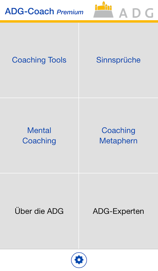 ADG Coach – Screenshot