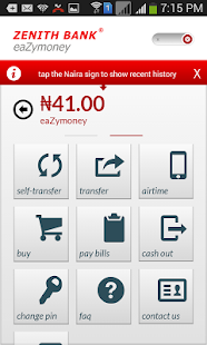 Zenith Bank Mobile App- screenshot thumbnail
