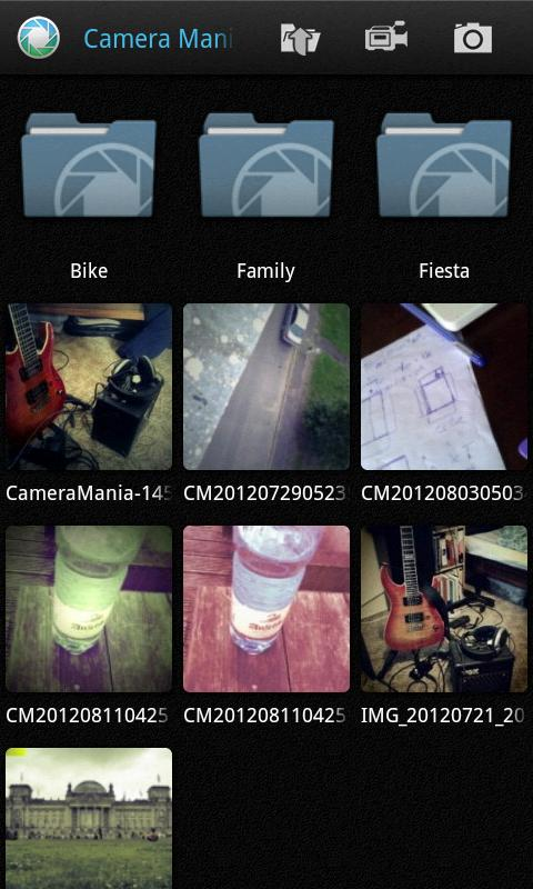 Camera Mania Pro - screenshot
