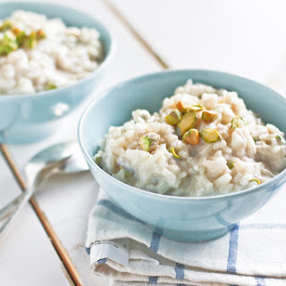 Chilled Pistachio Rice Pudding