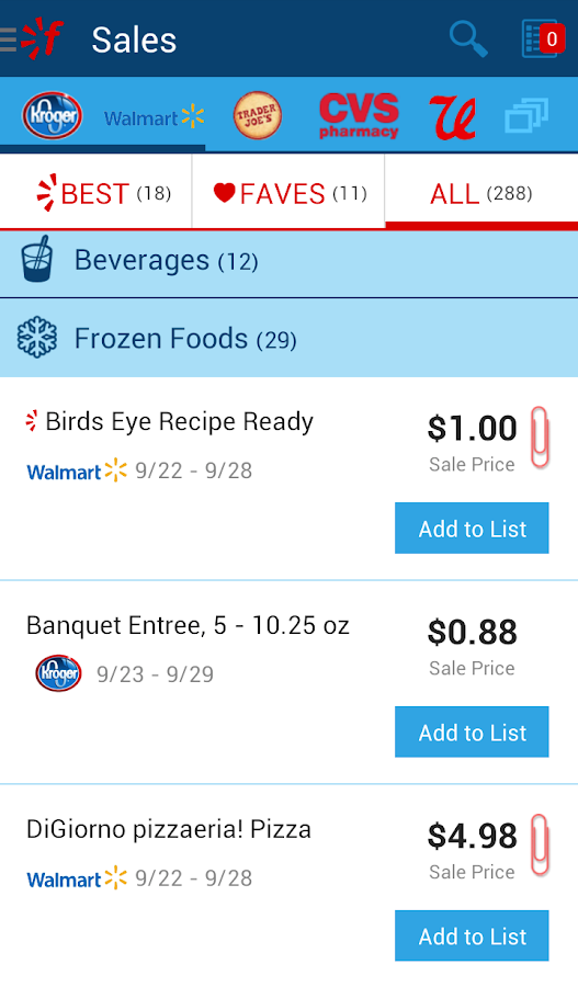 Favado Grocery Sales - screenshot