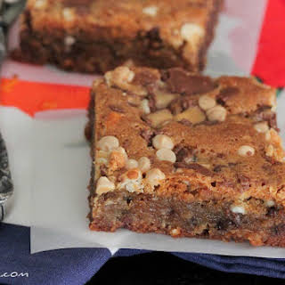 Loaded Malted Chocolate Chip Cookie Bars.