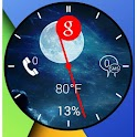 Wear Analog Clock Zooper icon