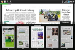 Screenshot of Tiroler Tageszeitung
