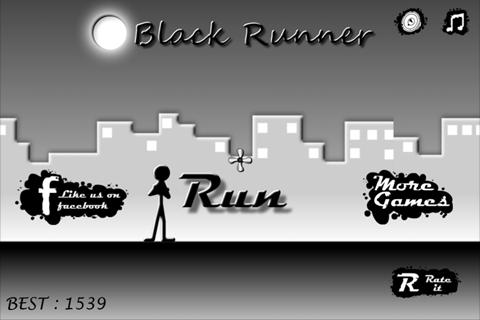 Black Runner - screenshot