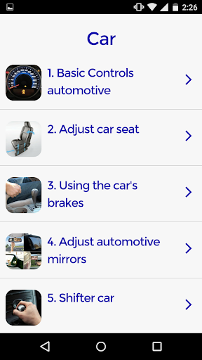 Automobile Driving Course