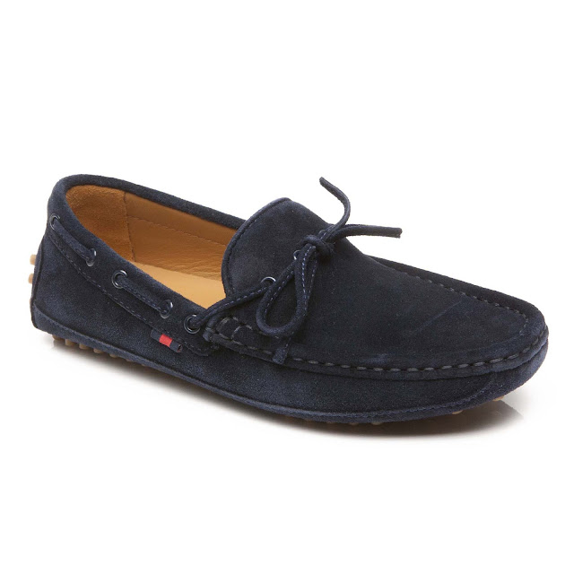Step2wo   Gucci   SLIP ON LOAFER Childrenu0026#39;s Shoe in Navy Suede