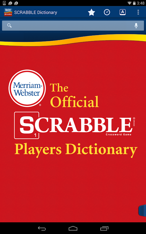 SCRABBLE Dictionary- screenshot