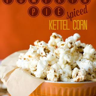 Pumpkin Pie Spice Kettle Corn
