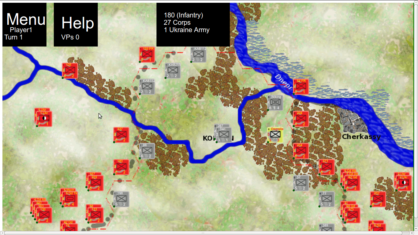 Wargame: Korsun 1944- screenshot