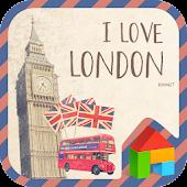 London dodol launcher theme