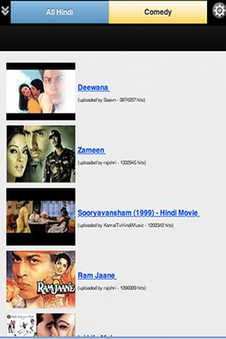 Hindi Movies - screenshot