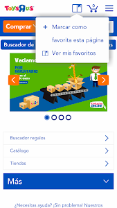 "Toys""R""Us España screenshot 1"