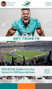Official Miami Dolphins- screenshot thumbnail