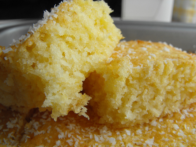 Small.... Smoooooth... Coconut Cake Recipe