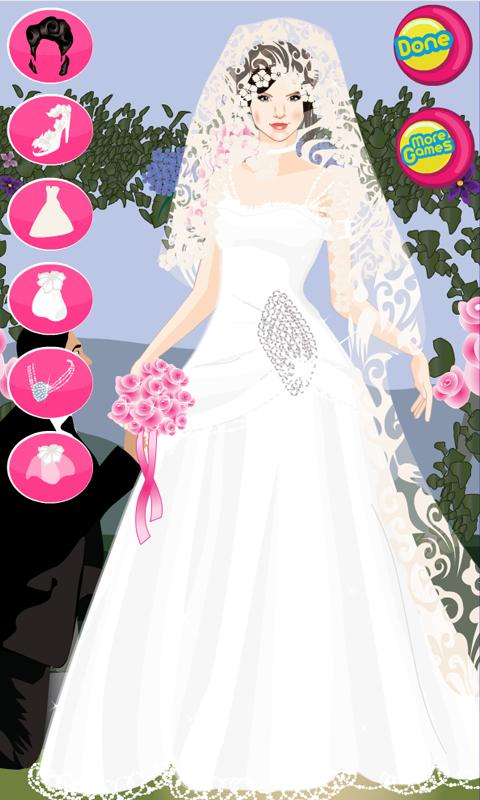 wedding games dress online free