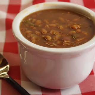 Slow Cooker Multi Bean Casserole.