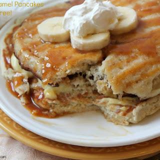 Gluten Free Banana Caramel Pancakes Recipe & Giveaway