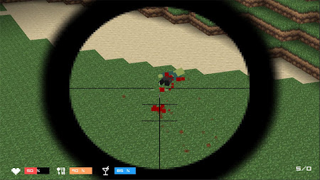 Cube Gun 3D : Zombie Island 1.0 screenshot 44166