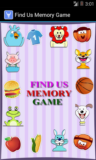 Find Us - Memory Game