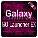 Pink Galaxy GO Launcher Theme icon