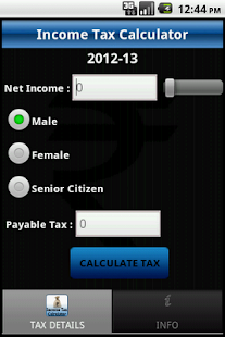India Income Tax Calc Pro - screenshot thumbnail