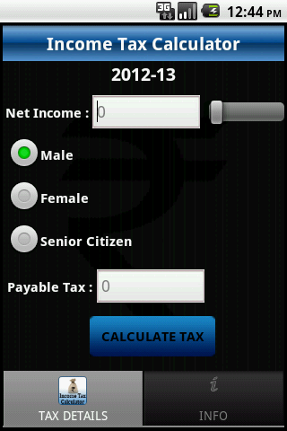 India Income Tax Calc Pro - screenshot