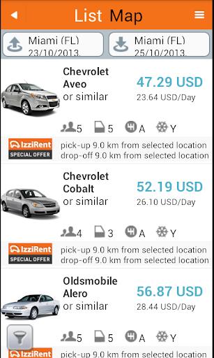 【免費旅遊App】IzziRent 汽车租赁-APP點子