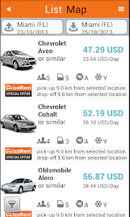 IzziRent Car Rental - screenshot thumbnail