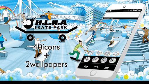 H.L.N.A-Skate Park Icon WP