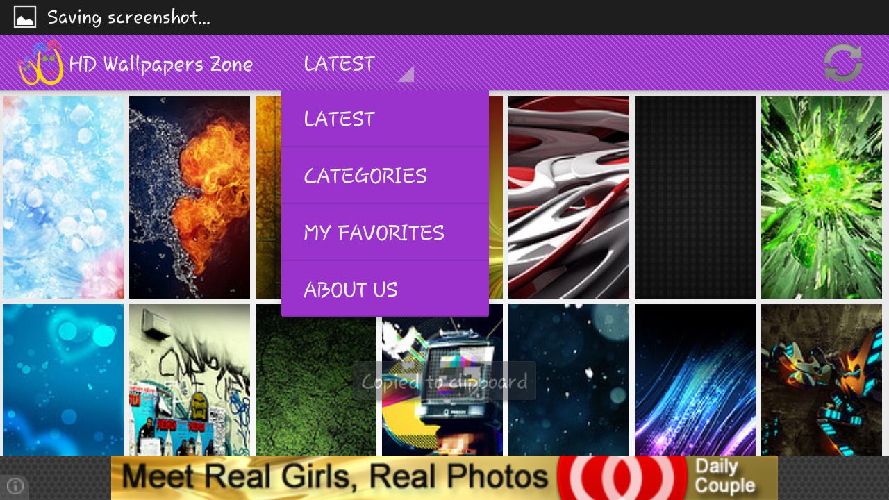 Hd wallpaper zone - Hd Wallpapers Zone Premium App Screenshot