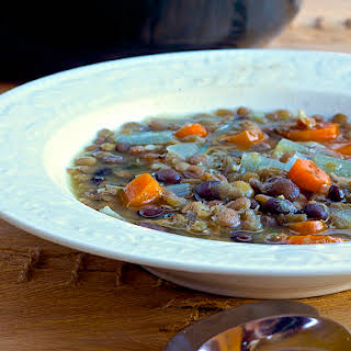 Black Bean and Lentil Soup – Great Way to use Leftover Lentils.