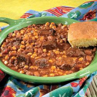 Mexican Beef and Bean Stew.