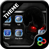 Metal v2 GO Launcher EX theme
