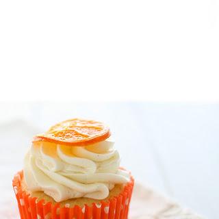 Orange Vanilla Bean Cupcakes