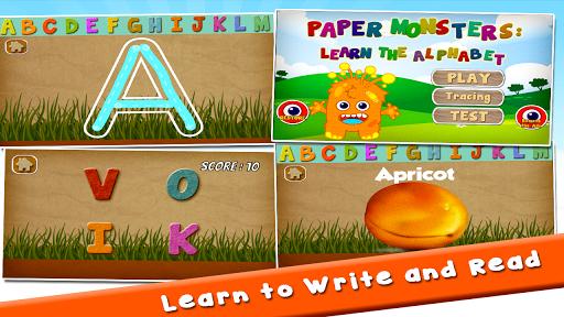 Paper Monsters Alphabet