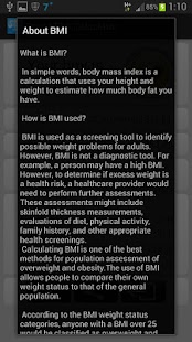 Smart BMI Calculator- screenshot thumbnail