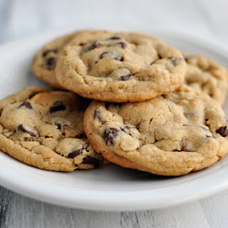 Chocolate Chip Peanut Butter and Oatmeal Cookies.