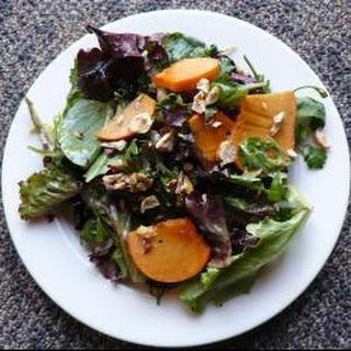 Sharon Fruit and Hazelnut Salad