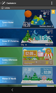 Simple Fancy Clock Weather screenshot 3