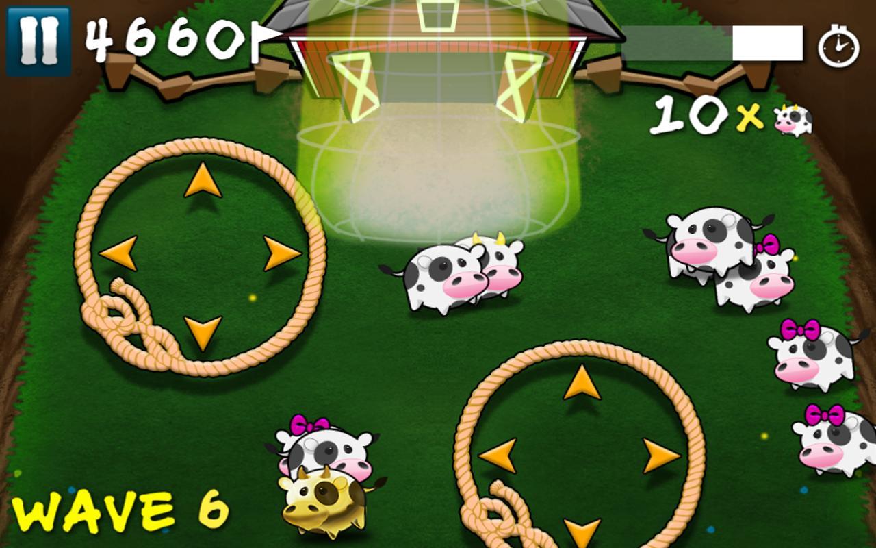 Cows Vs Aliens- screenshot